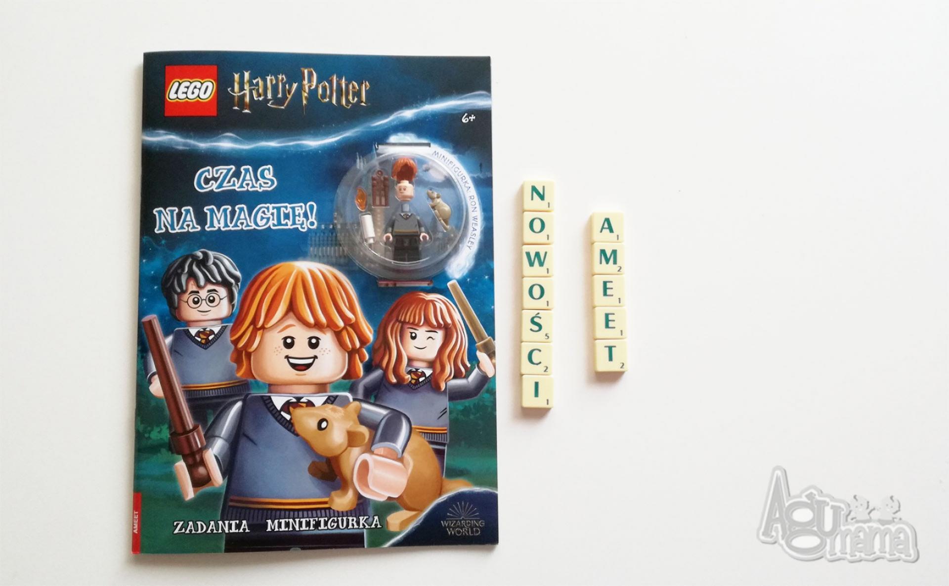 nowości Ameet zeszyt z zadaniami i figurką LEGO Harry Potter