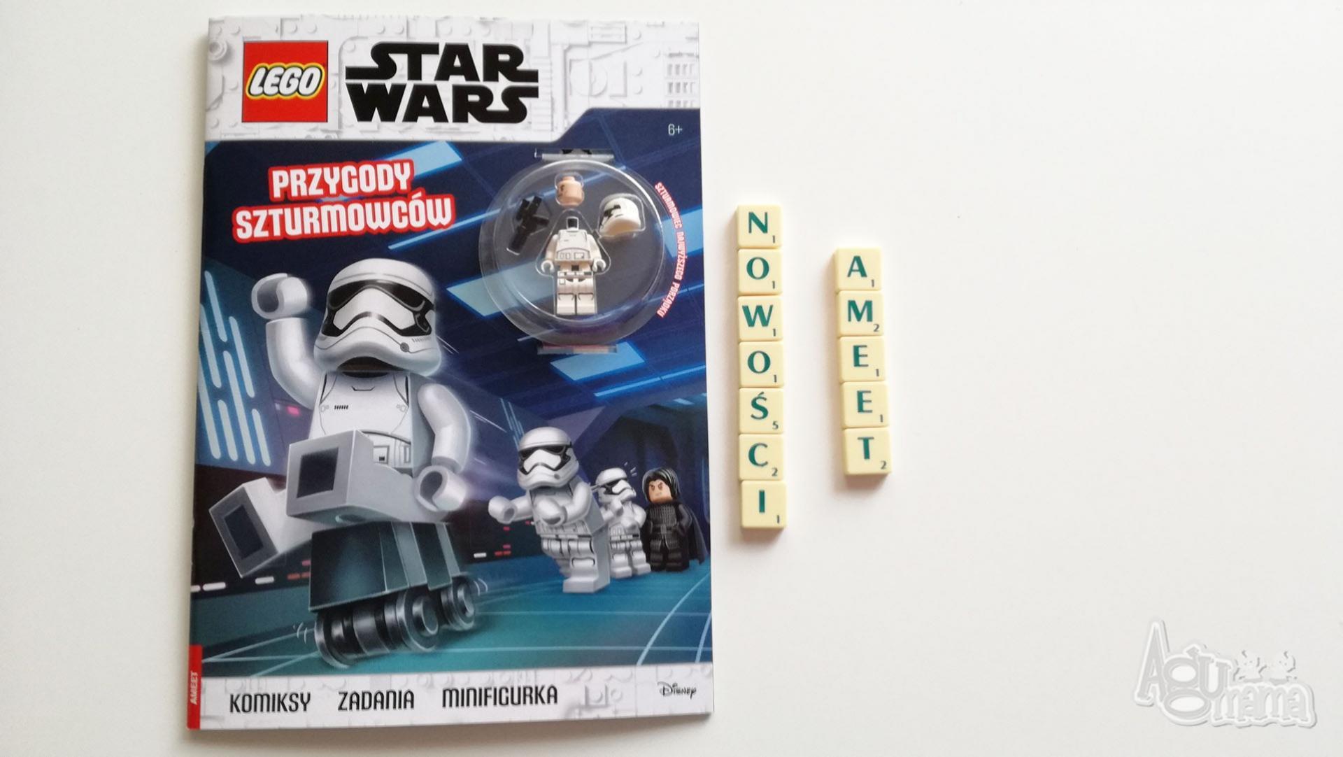 nowości Ameet zeszyt z figurką LEGO Star Wars
