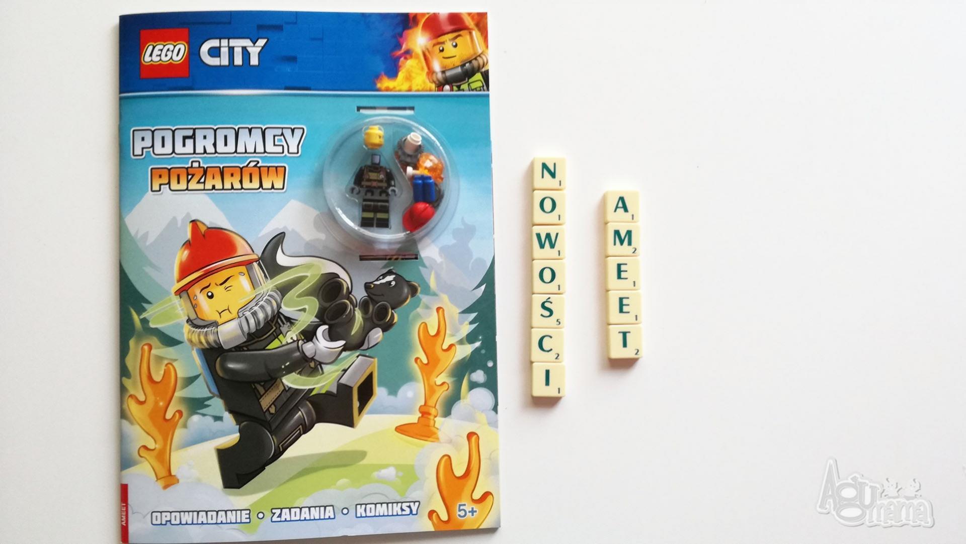 nowości Ameet zeszyt z figurką LEGO strażacy