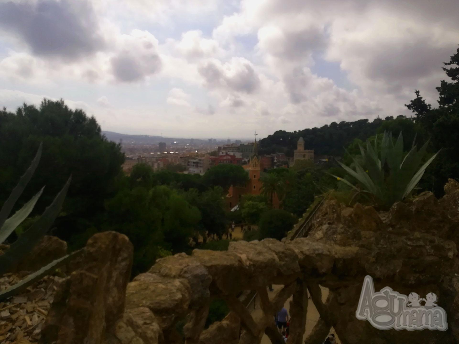 przerwa od macierzyństwa park guell panorama