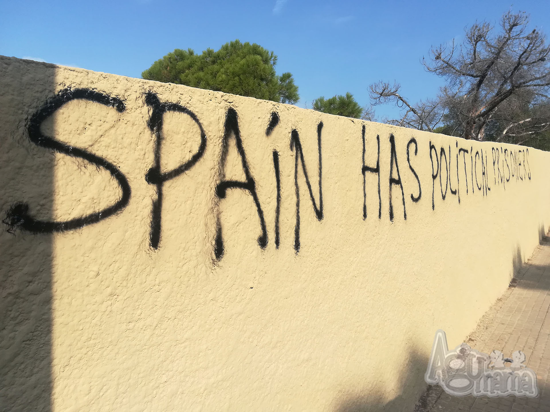 przerwa od macierzyństwa protesty w Katalonii