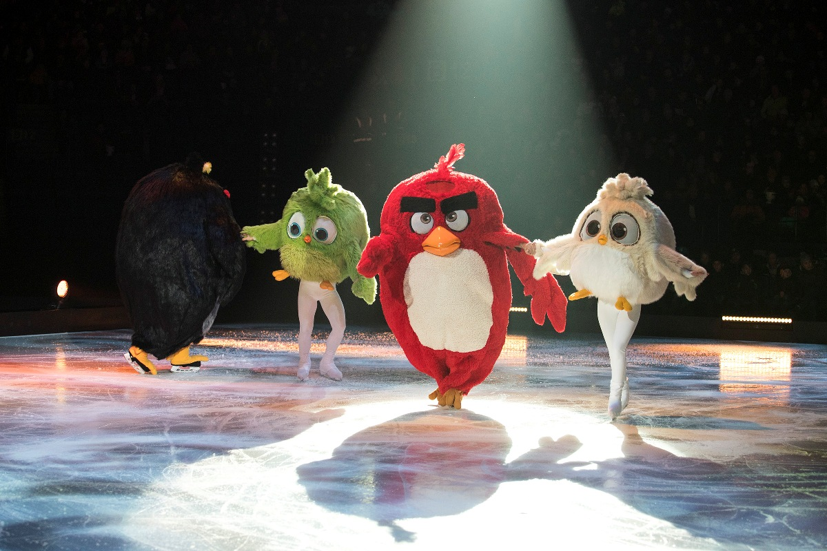 rewia angry birds on ice