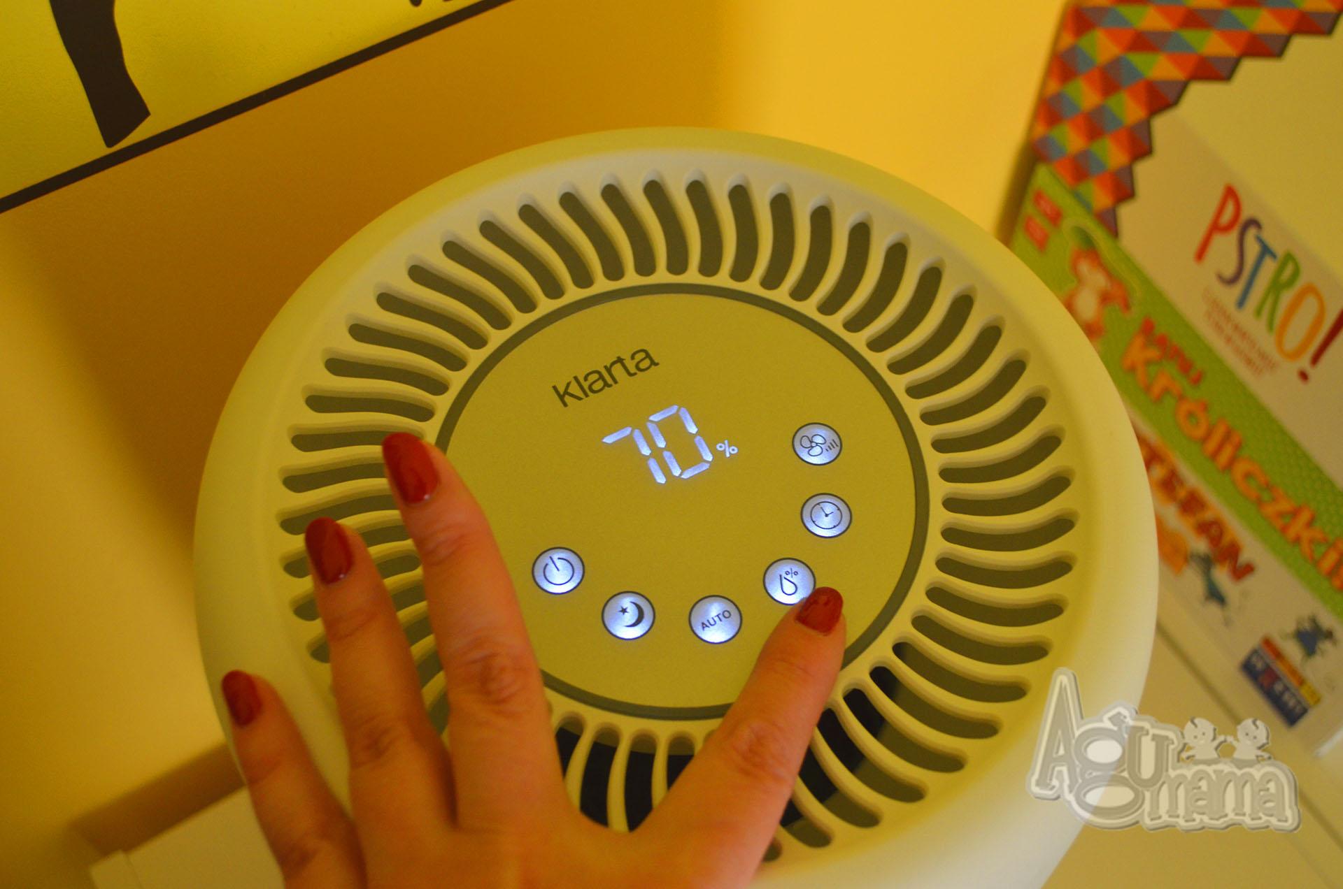 nawilżacz powietrza regulacja wilgotności